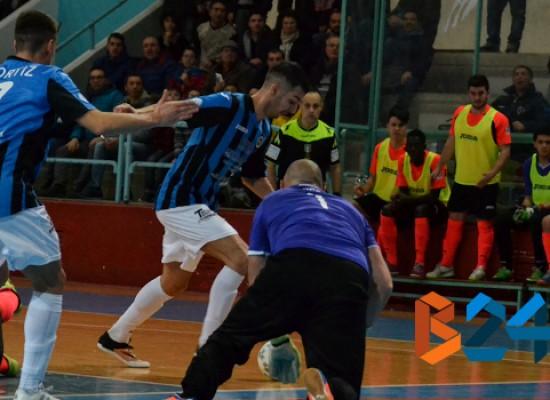 Pari infuocato al PalaDolmen tra Futsal Bisceglie ed Augusta