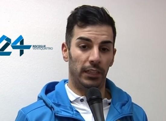 Ostacolo Augusta domani per il Futsal Bisceglie, intervista a Kevin / VIDEO