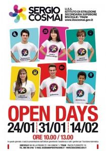 locandina Open Day Cosmai 2016