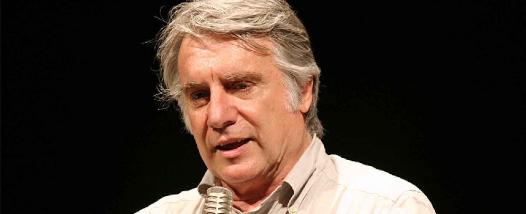 Paolo Crepet a Bisceglie per un incontro della Fondazione Dcl