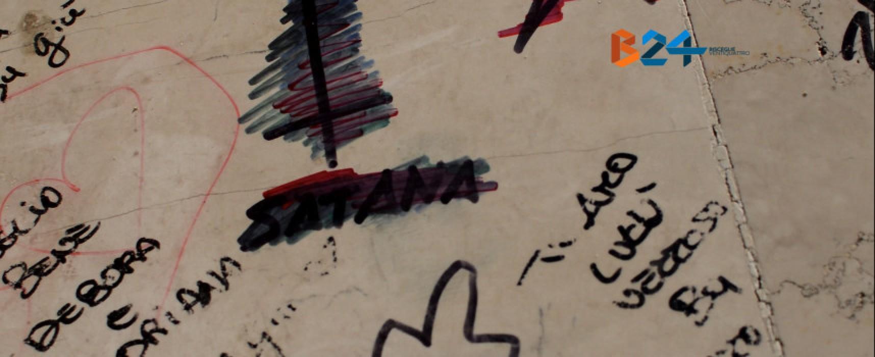 Atti vandalici nel parco di Santa Maria di Costantinopoli: l'appello di Don Domenico / VIDEO