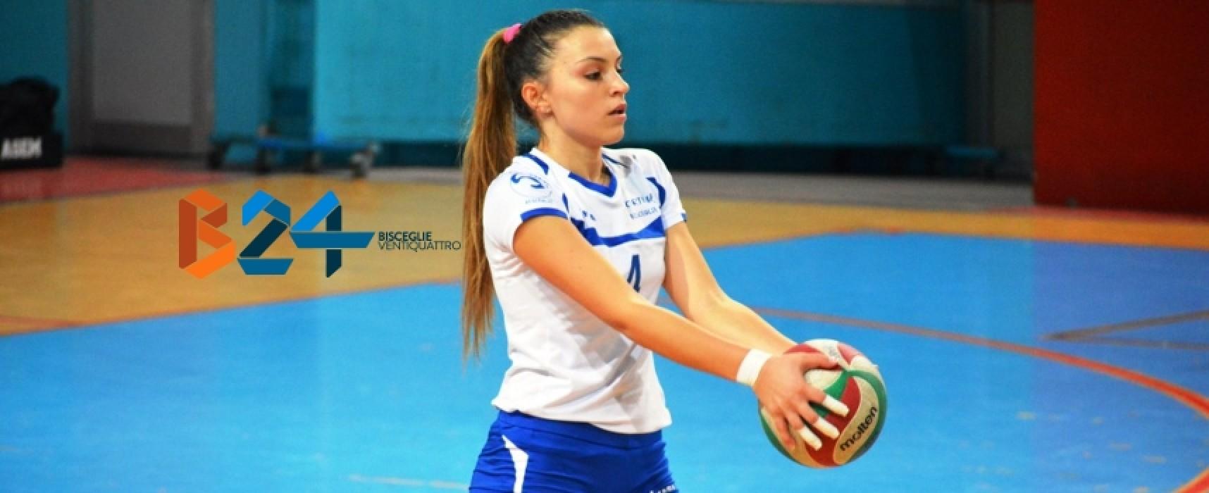Ester Haliti passa da Sportilia Bisceglie al Pharma Volley Giuliani