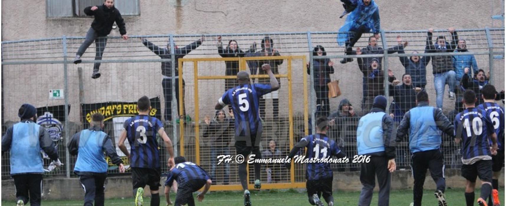 Il Bisceglie calcio sbanca il campo dell'Aprilia, salvezza distante un solo punto
