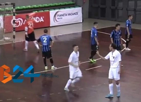 Il Futsal Bisceglie inciampa a Catania / VIDEO HIGHLIGHTS