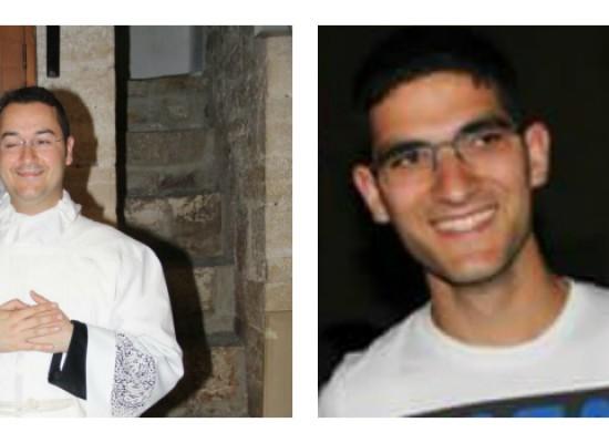 Ordinazione diaconale per gli accoliti Pietro D'Alba e Ruggiero Fiore