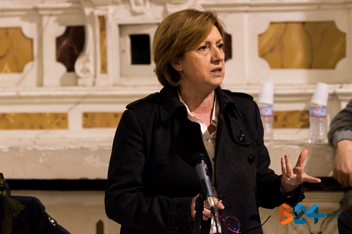 Tonia Spina consiglio comunale 25 febbraio