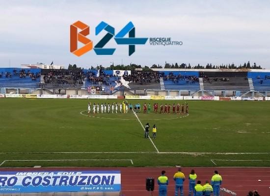 Nuovo pari per il Bisceglie Calcio, con il Pomigliano è 1-1 / CLASSIFICA