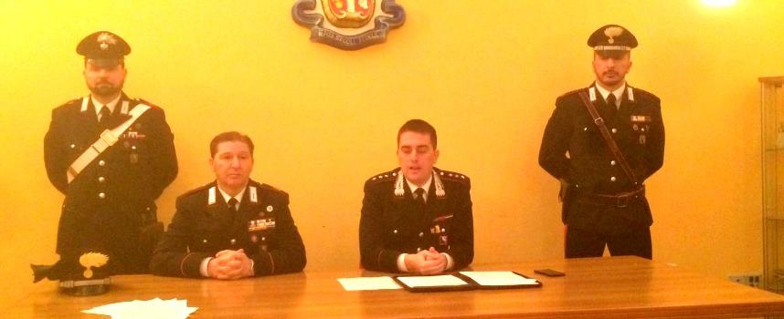 conferenza stampa carabinieri bisceglie