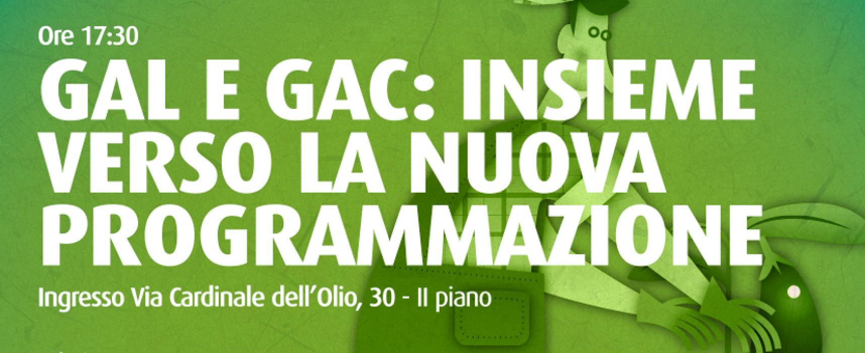 A Palazzo Tupputi presentazione percorso multisensoriale e convegno sul futuro di GAL e GAC