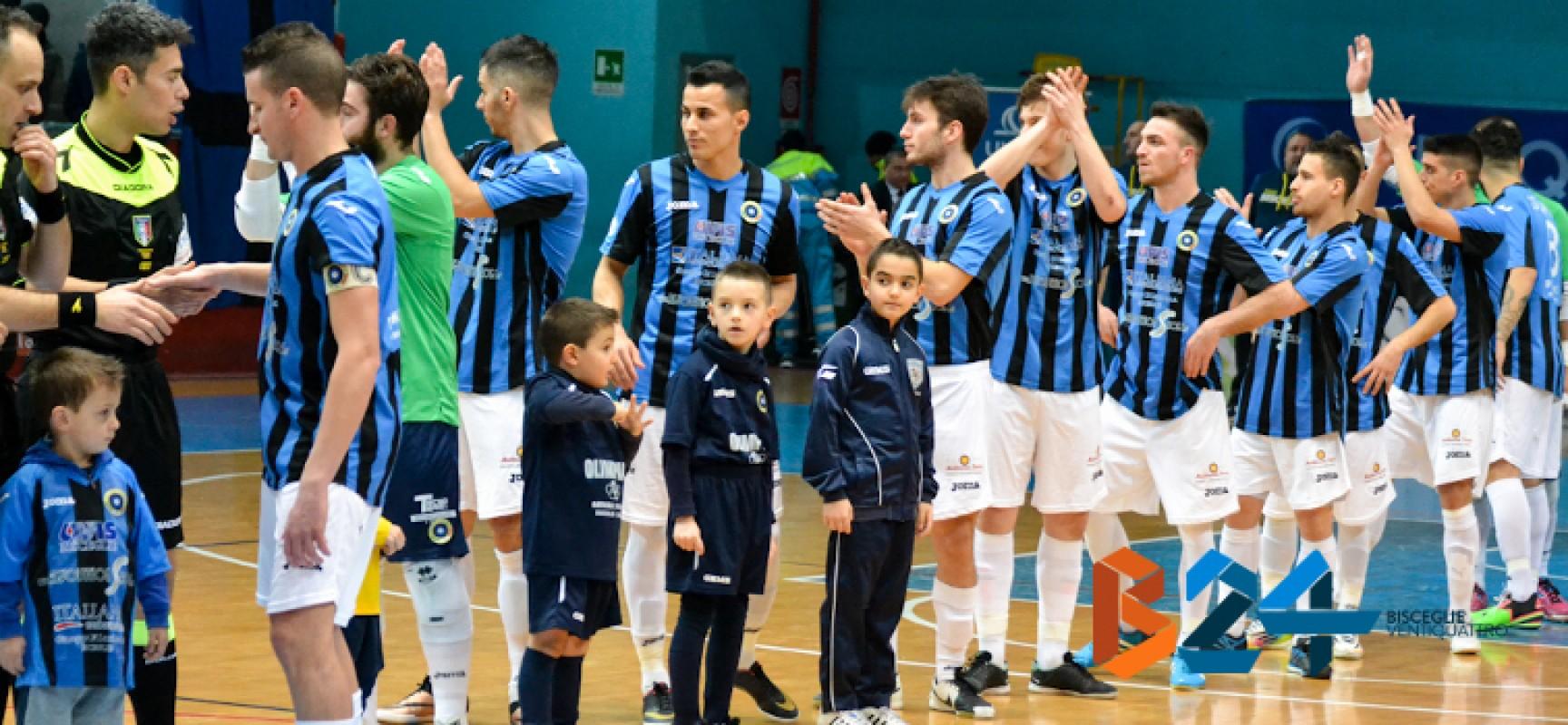 Diretta Live: Futsal Bisceglie – Olimpus Olgiata 2-2 FINALE