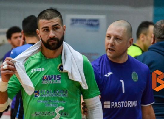 Lopopolo eurogol, il Futsal Bisceglie impatta con l'Olimpus Olgiata
