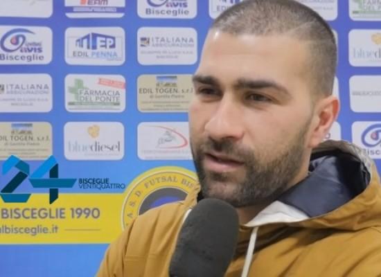 """Futsal Bisceglie, Lopopolo: """"A Catania gara fondamentale"""" / VIDEO intervista"""