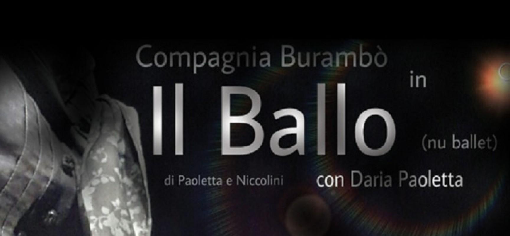 """Effetti Collaterali, domenica sera andrà in scena """"Il Ballo"""" con Daria Paoletta"""