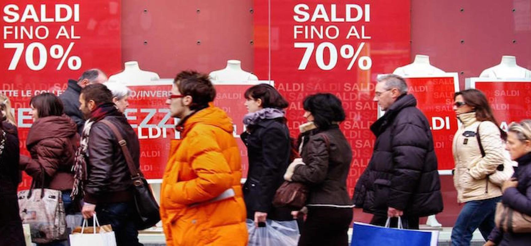 Venerdì 5 gennaio inizio dei saldi invernali, la Confcommercio invita al rispetto delle regole