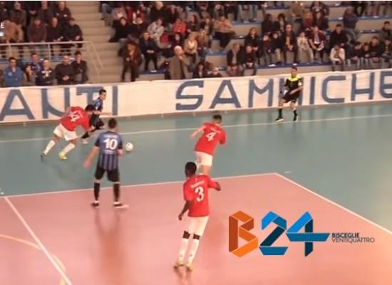 Sammichele-Futsal Bisceglie 4-4 / VIDEO HIGHLIGHTS
