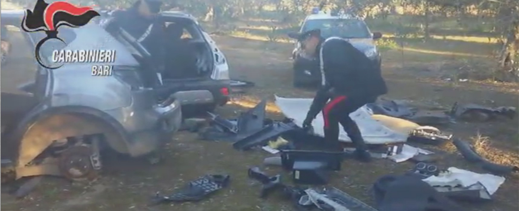 Operava anche a Bisceglie la banda di ladri d'auto sgominata ad Andria / VIDEO