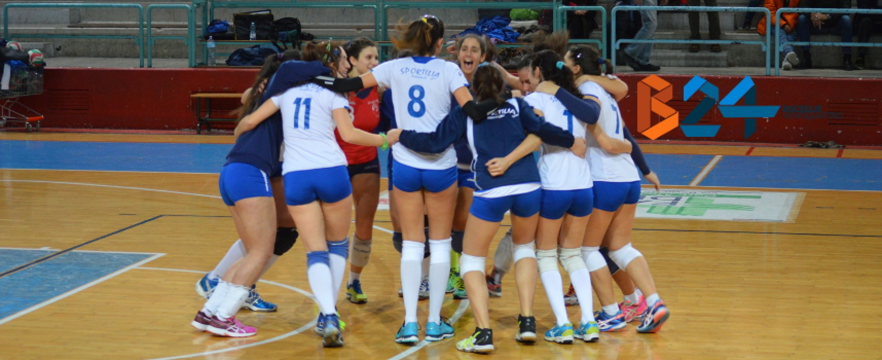 Riecco Sportilia, 3-0 al Volley Barletta