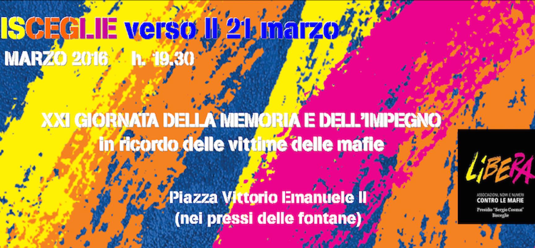 Giornata della Memoria e dell'Impegno, oggi in piazza il ricordo delle vittime di mafia