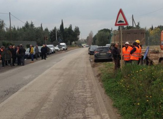Provinciale Bisceglie-Andria chiusa al traffico per due mesi