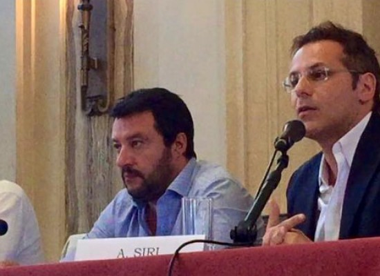 Noi con Salvini,  a Bisceglie l'economista Siri e il segretario nazionale on. Attaguile