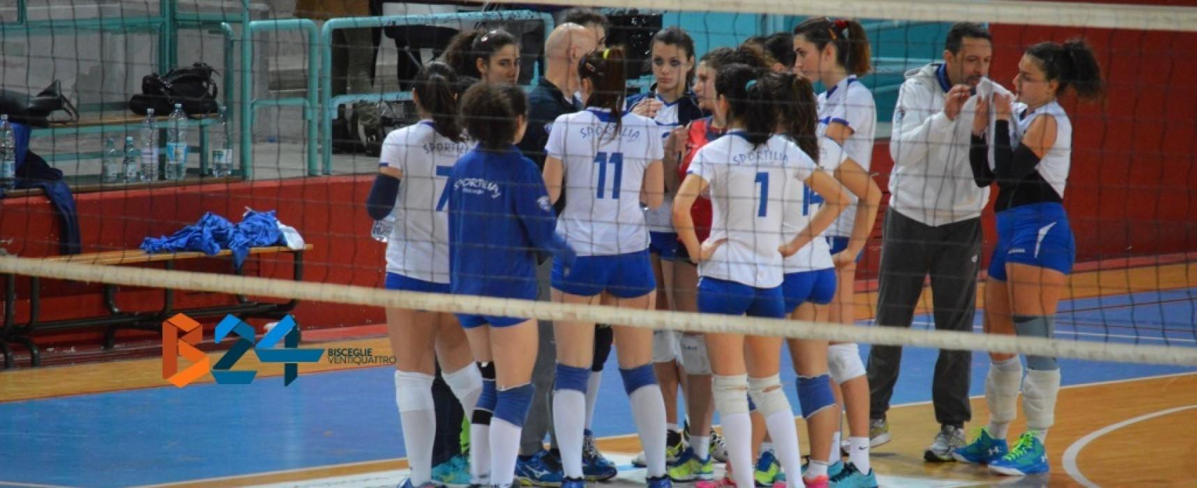 Sportilia, sfida al Volley Barletta per riprendere la corsa play-off