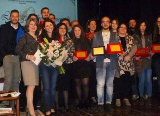 """""""Premio Letterario Internazionale Donna"""", il biscegliese Marco Di Pinto si aggiudica due premi"""