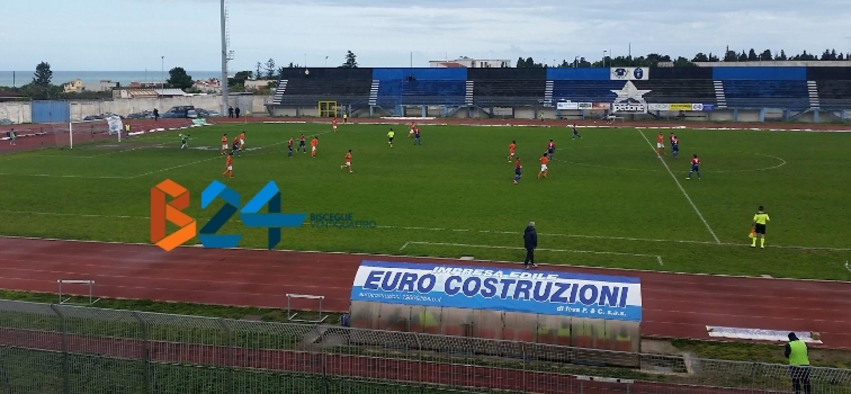 Unione Calcio, nuovo pareggio contro la Sudest Locorotondo