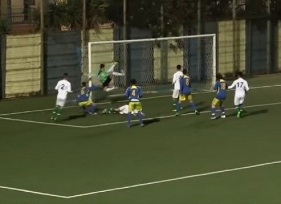 A Catania gli Allievi dell'Unione Calcio superano la Villese / VIDEO HIGHLIGHTS