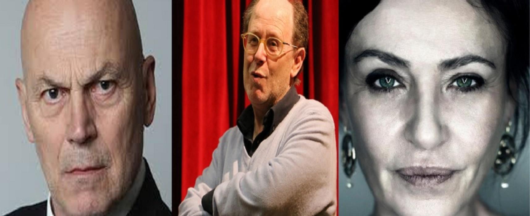 """Al via il progetto """"Show"""", laboratorio teatrale con Carmela Vincenti, Luca Biagini e Giuseppe Manfridi"""