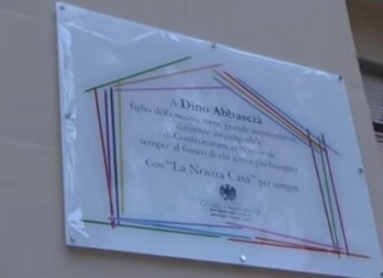 Inaugurata casa famiglia intitolata a Dino Abbascià
