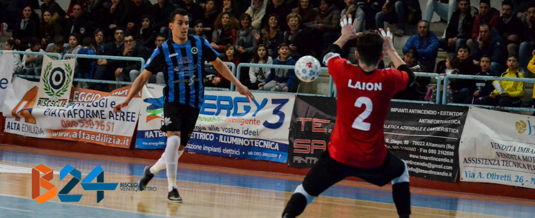 Futsal Bisceglie torna alla vittoria sulla Partenope / VIDEO HIGHLIGHTS