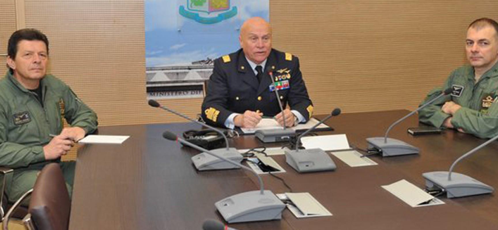 Il Generale biscegliese Preziosa, Capo di Stato Maggiore dell'Aeronautica, si congeda