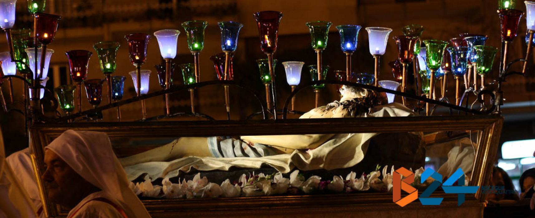 Devozione e preghiera, PHOTOGALLERY della processione dei Santi Misteri
