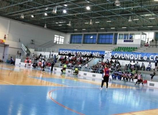 """""""PalaDolmen"""" teatro della Final Eight di Serie C femminile di calcio a cinque"""