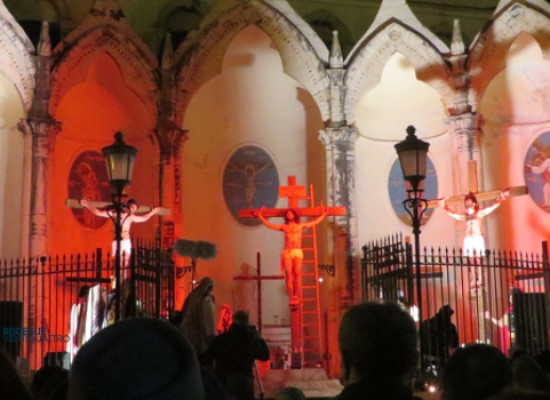"""Bagno di folla per la quinta edizione della """"Passio Christi"""" / PHOTOGALLERY"""