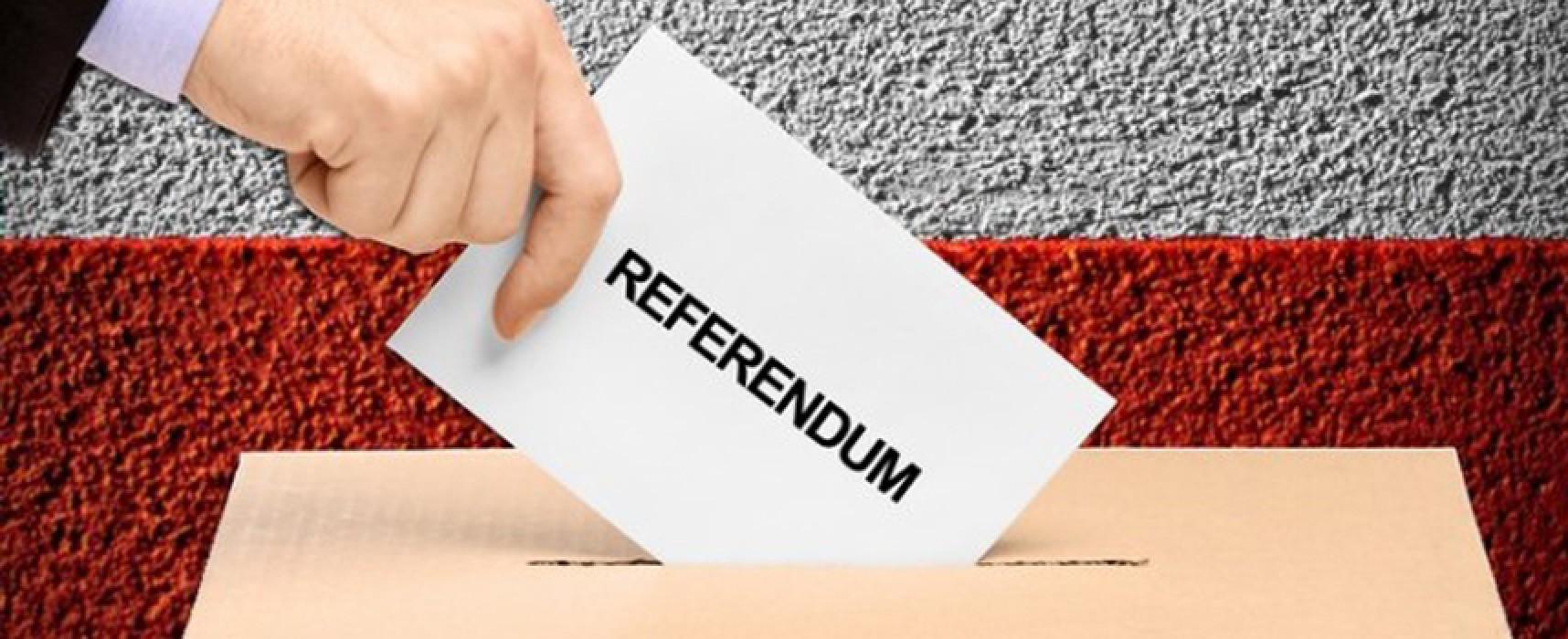 """Comitato biscegliese per il """"NO"""" alle riforme costituzionali, il primo maggio raccolta firme in piazza"""