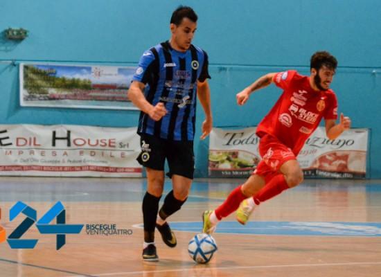 Sanchez carica il Futsal Bisceglie, sabato gara difficile con il Cisternino