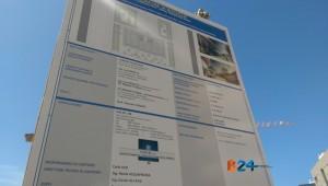 tabellone informativo cantiere scuola zona 167
