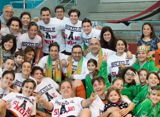Festa Arcadia, batte l'Arkè Siracusa e conquista la promozione in Serie A d'Elitè/FOTOGALLERY