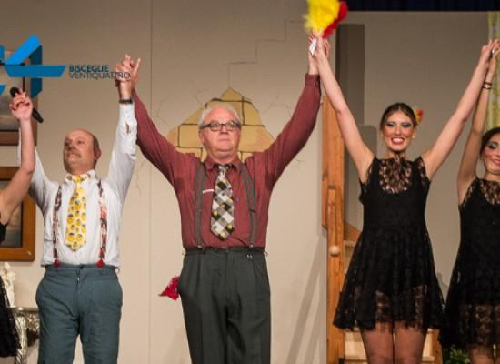 La grande festa dei trent'anni della Compagnia Dialettale al Teatro Politeama
