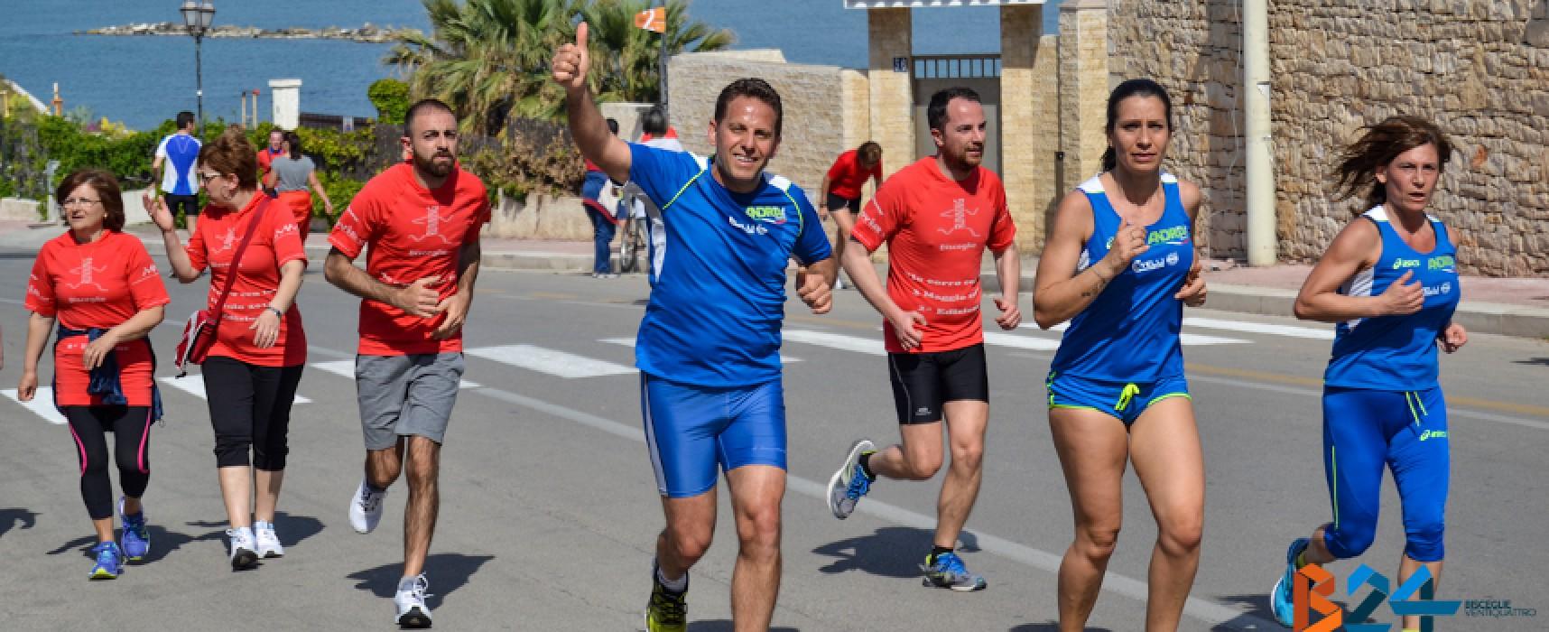 """Torna """"Io corro con te"""", Bisceglie Running invita al movimento e a godersi il lungomare / ISCRIZIONI"""