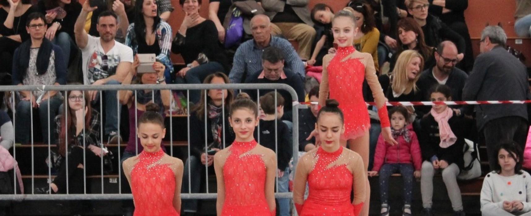 Iris a Lecce per l'Individuale Silver, cinque ginnaste biscegliesi in gara