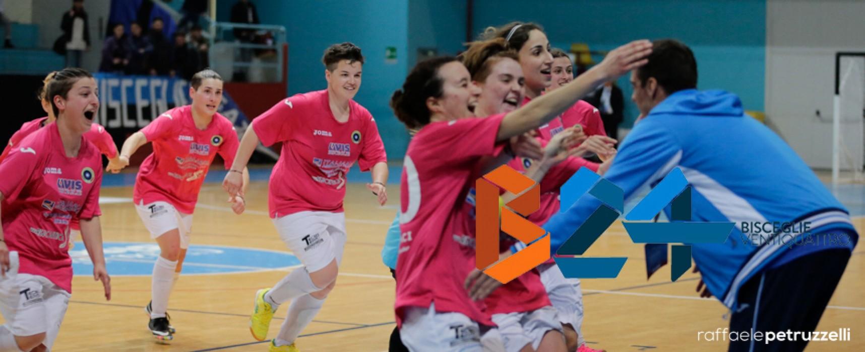 Futsal Bisceglie femminile vince di rimonta, oggi semifinale contro la Jesina /FOTOGALLERY