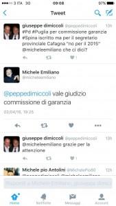 Tweet Emiliano Spina commissione di Garanzia