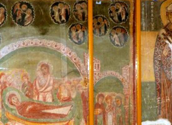 Domenica la fiera di Giano, Maria Luisa De Toma spiega come sono stati salvati gli affreschi