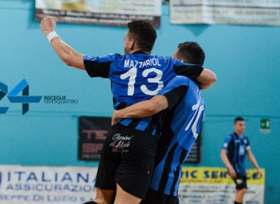 Futsal Bisceglie-Block Stem Cisternino 4-4 / VIDEO HIGHLIGHTS