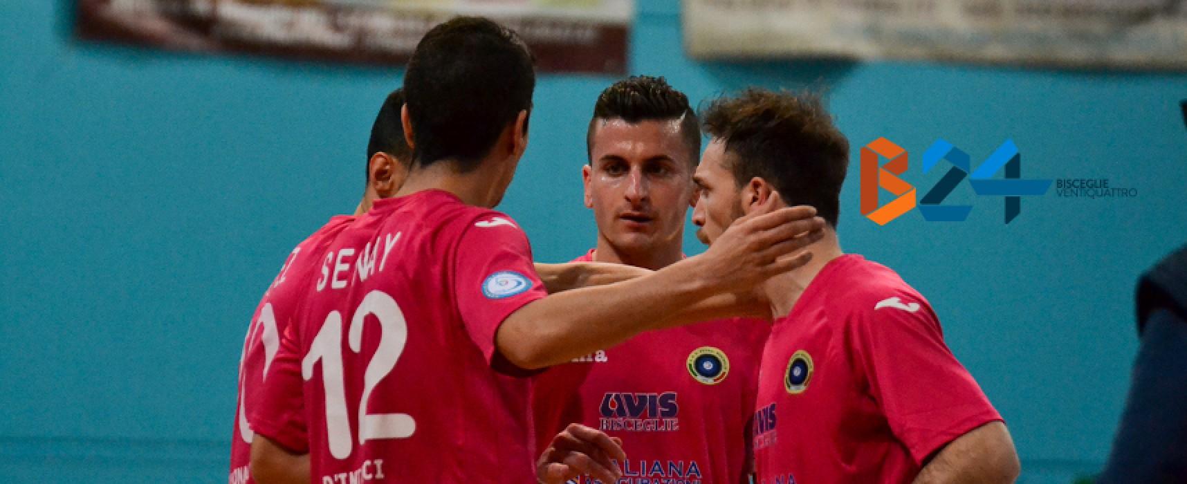Parte la corsa verso la serie A, il Futsal Bisceglie attende il Cisternino nel primo turno playoff