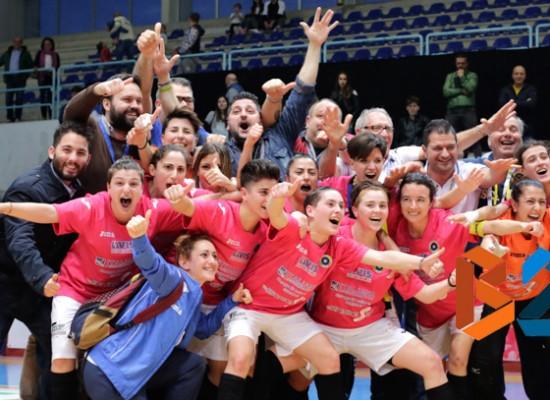 Futsal Bisceglie spettacolo, è finale di Coppa Italia / FOTOGALLERY
