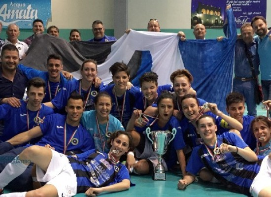 Futsal Bisceglie, la compagine femminile è promossa in serie A