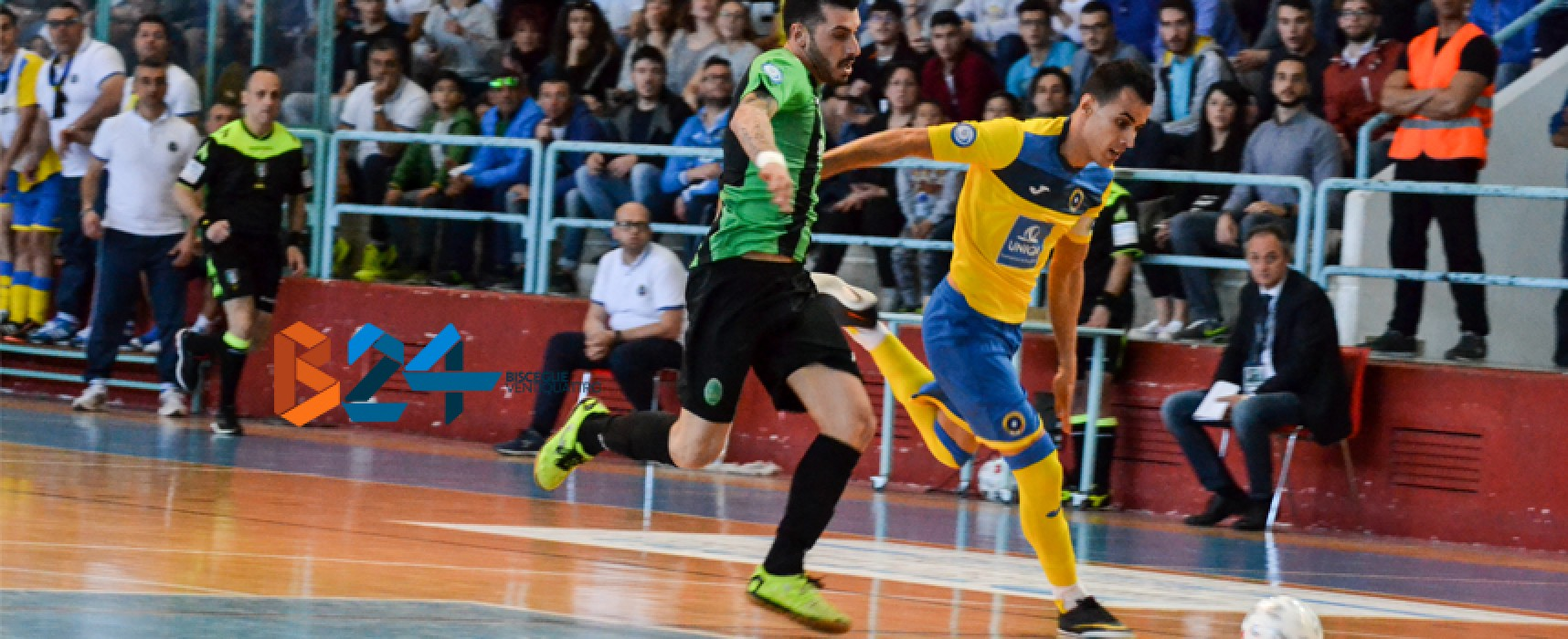Un grande Futsal Bisceglie non basta, in finale playoff ci va l'Augusta
